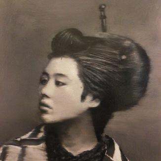 Cristiano Tassinari, Japanese portrait, 2013, Olio su tela, 110 x 90, VAN DER Gallery