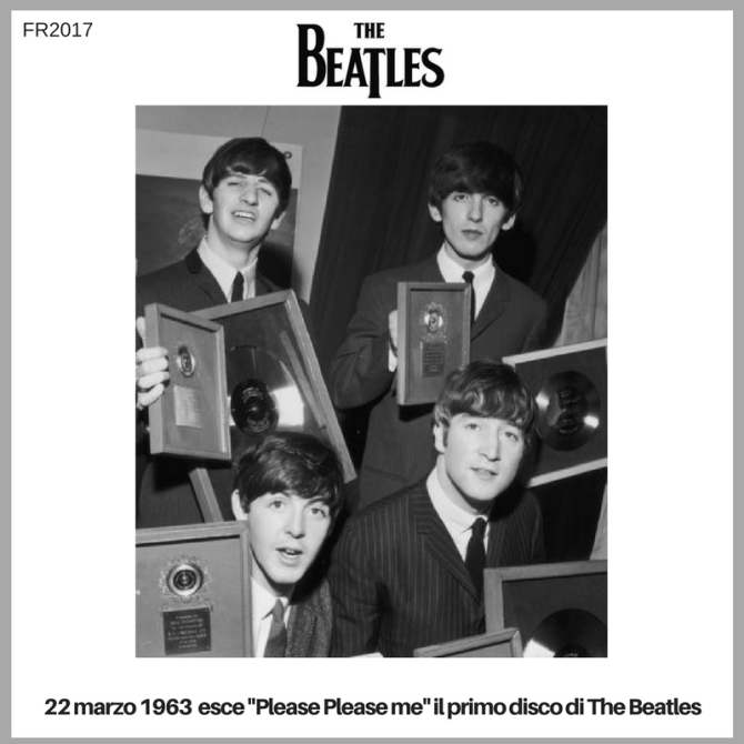 primo disco di the beatles
