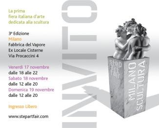 Invito Milano Scultura - Step Art Fair 2017
