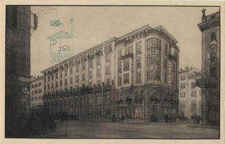 Fabbrica di cioccolato Ambrosia, Milano (1921)