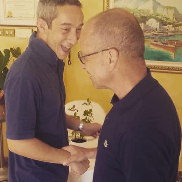Enrico Baccarini con Mauro Biglino: attenti a quei due
