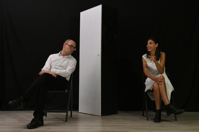 Filippo Massaro e Camilla Giacometti