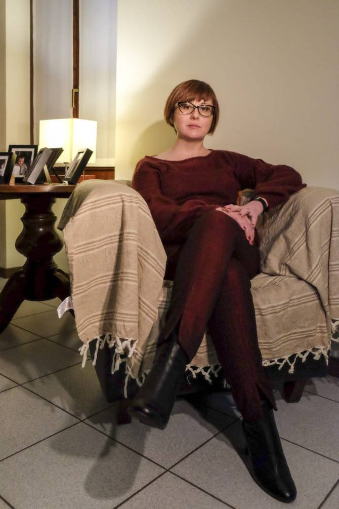 La dottoressa Cristina Brasi