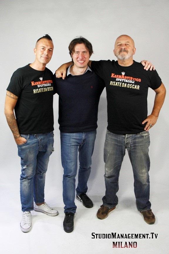 Francesco Ruta, Luca Cecchelli e Stefano Chiodaroli