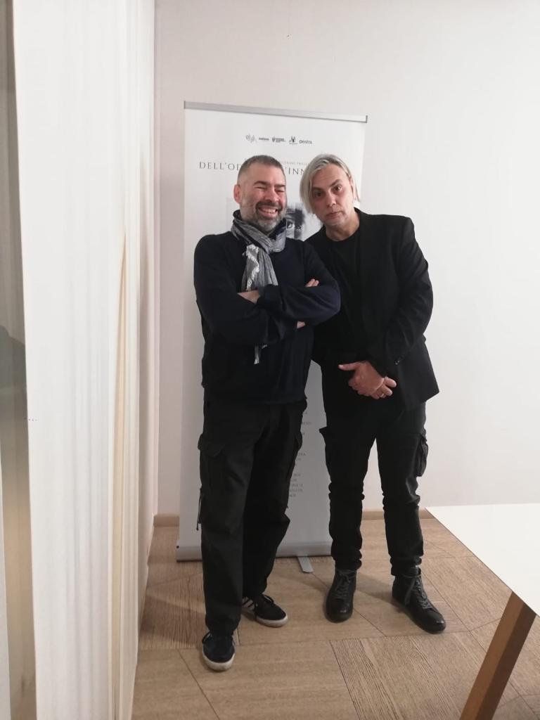 Fabio Ricci con Paolo Benvegnù